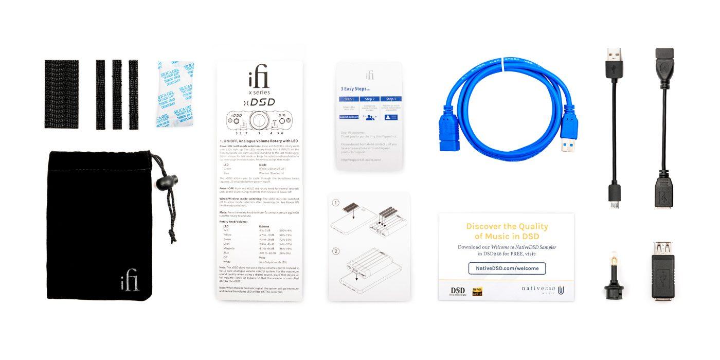 iFi Audio xDSD Lieferumfang