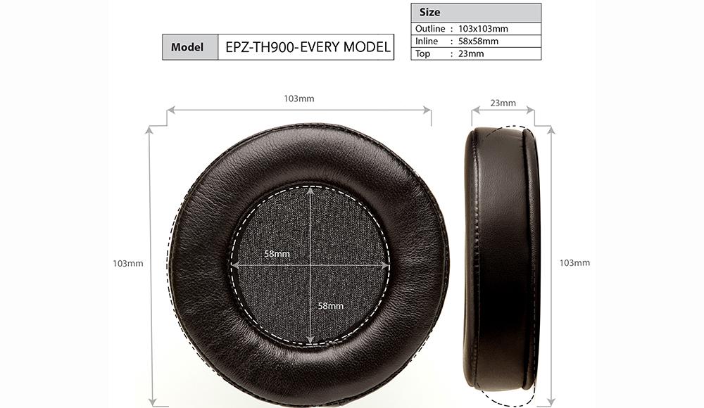 Dekoni EPZ-TH900-FNSK Abmessungen