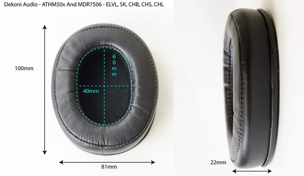 Dekoni EPZ-ATHM7506-CHB